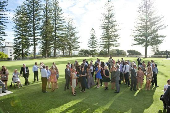 Outdoor wedding in Cottesloe