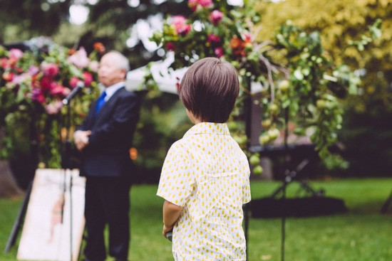 Outdoor wedding in Melbourne