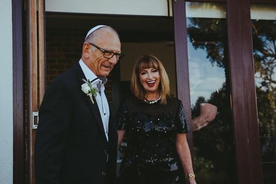 Parents of groom
