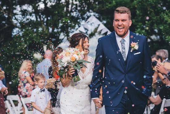 Petal wedding reception