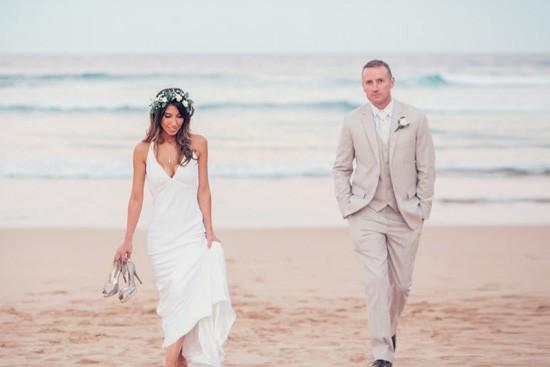Photo on the beach in Sydney