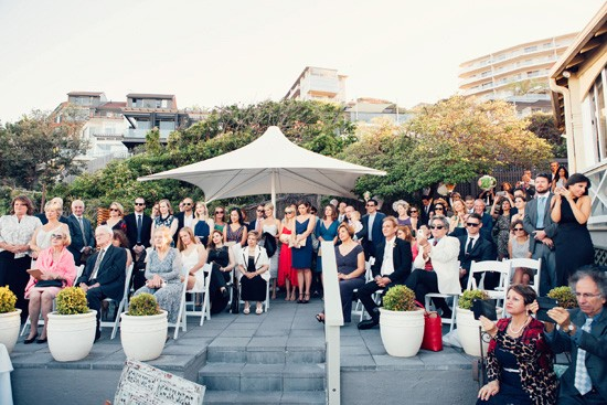 Pliu Restaurant wedding ceremony