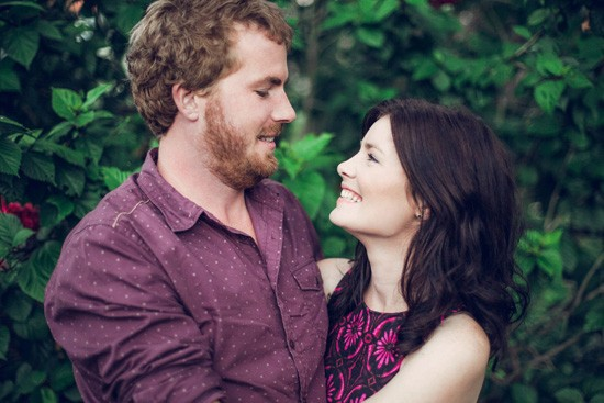 Relaxed garden engagement party20