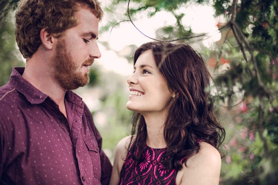 Relaxed garden engagement party22