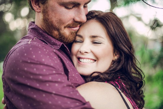 Relaxed garden engagement party24