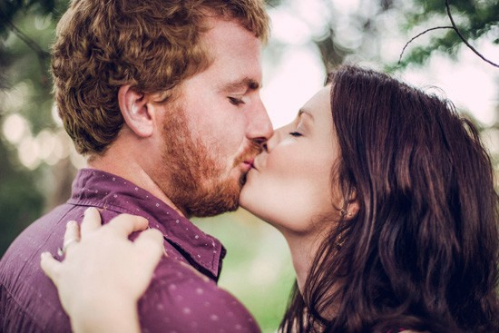 Relaxed garden engagement party26
