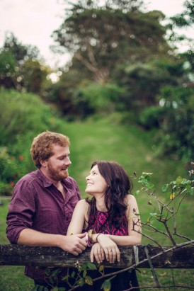 Relaxed garden engagement party27