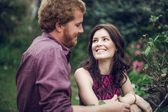 Relaxed garden engagement party29
