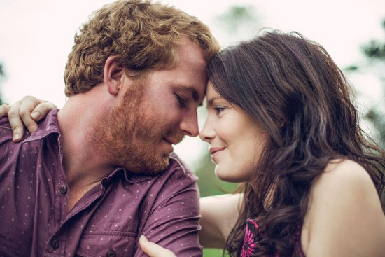 Relaxed garden engagement party30