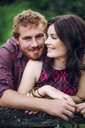 Relaxed garden engagement party32