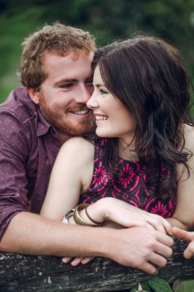 Relaxed garden engagement party33