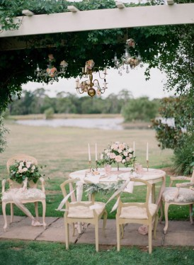 Romantic country estate wedding