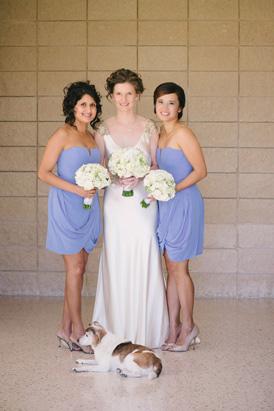 Serenity Pantone Bridesmaid Dresses