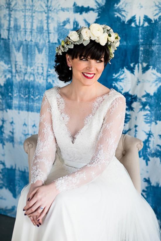 Shibori Inspired Wedding009