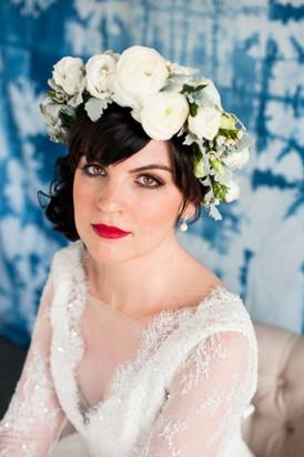 Shibori Inspired Wedding010