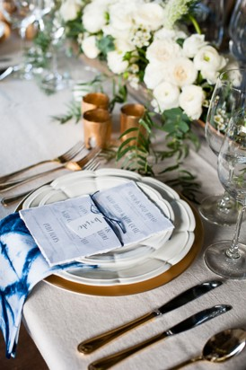 Shibori Inspired Wedding013