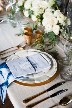 Shibori Inspired Wedding013