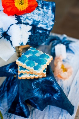Shibori Inspired Wedding021