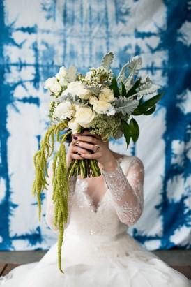 Shibori Inspired Wedding037