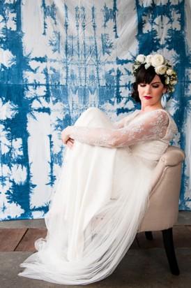 Shibori Inspired Wedding039