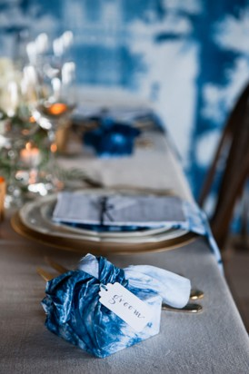 Shibori Inspired Wedding059
