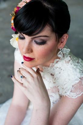 Shibori Inspired Wedding074