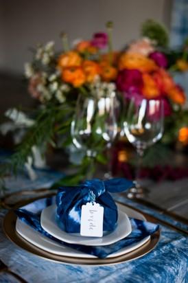 Shibori Inspired Wedding075