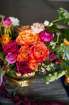 Shibori Inspired Wedding076