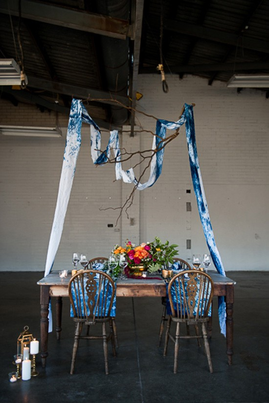 Shibori Inspired Wedding082