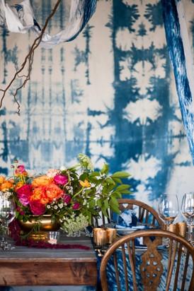 Shibori Inspired Wedding083