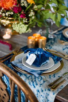 Shibori Inspired Wedding094