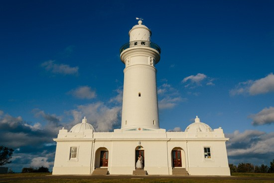 Sydney lighthouse wedding photo
