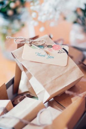 Thank you bags for wedding