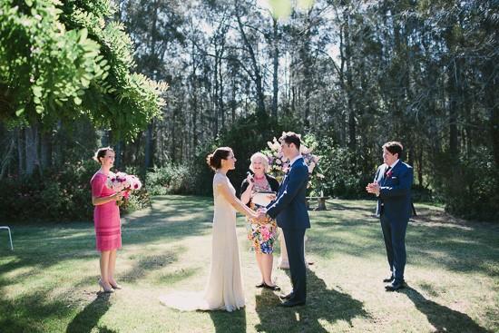 Vienyard garden wedding NSW