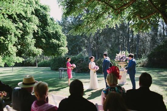 Wedding ceremony at  Circa 1876