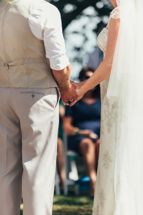 Wedding ceremony in Yarra Valley