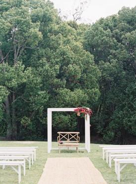 Wedding ceremony modern