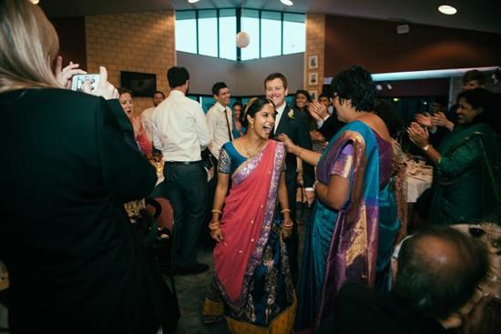 Wedding entrance at Indian Wedding