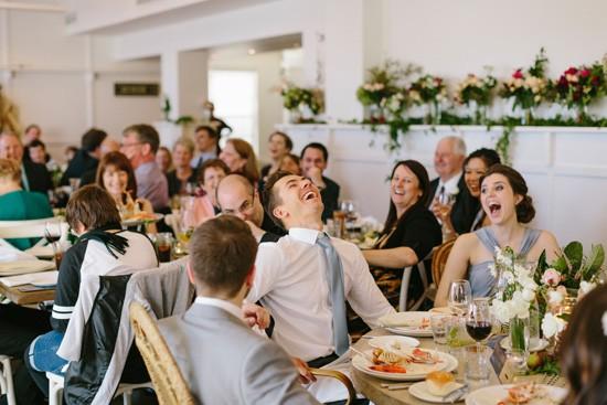 Wedding reception at Watsons Bay Boutique Hotel