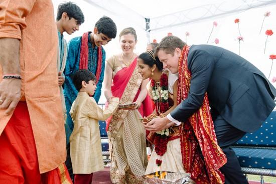 Wedding rings at Indian Wedding