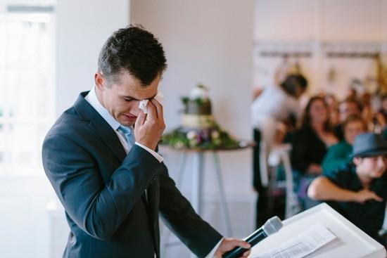 Wedding speech at Watsons Bay Boutique Hotel