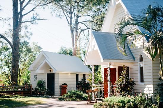 White chapel in braside
