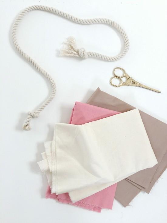 fabric-garland