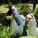 060 bride arrives