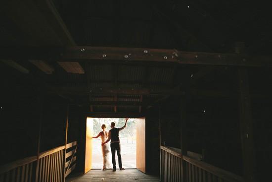 Australian barn wedding