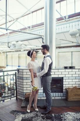 Australian mod inspired wedding