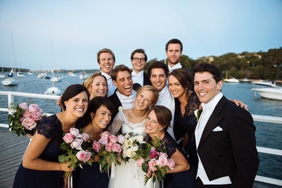 Balmoral wedding photo