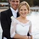 Bride in Elizabeth Todd