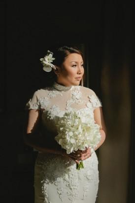 Bride in Neomi Allen Couture