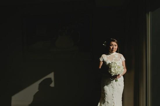 Bride wearing Neomi Allen Couture